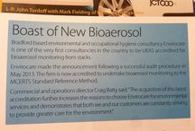 Bioaerosol / Envirocare are able to offer complete Bioaerosol Monitoring and analysis services from both captured (stack) and uncaptured (ambient) sources. Envirocare are one of only a handful of consultancies that are able to offer ISO 17025 and MCERTS accreditation to the Environment Agency's Standard Reference Method (VDI 4257 Blatt 2) for their monitoring service. www.envirocare.org