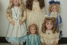 Antique German Dolls