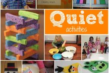 quiet activities
