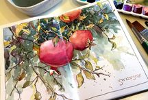 Art - Watercolor - Swenson, Brenda