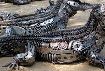 things made from car parts