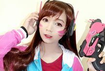 D.Va cosplay by HazelBoaMiki