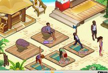 Yoga Retreat Screenshots / Yoga Retreat iOS game screenshots.