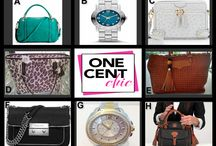 Dream It and Win It / Designer Bags and Watches Tonight 10 PM ET at OneCentChic