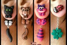 Polymer clay items