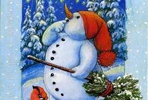 χριστούγεννα πίνακες