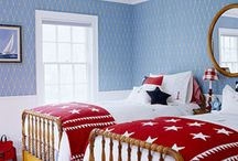 Boys Room Ideas / by Kareem Fenner