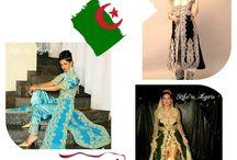 Caftan Algérien tenue traditionnelle