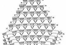serwetki szydełkowe / wzory i schematy serwetek szydełkowych