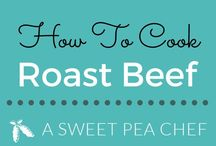 Roast beef recipes / how to cook