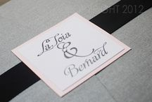 Luxurious Wedding Stationery / Wedding Stationery designed by Sparkling Events & Designs