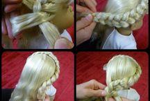 Hiuksien laittoa