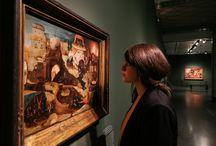 """Blick in die Ausstellung """"Verkehrte Welt. Das Jahrhundert von Hieronymus Bosch"""" / Werft einen Blick in die Ausstellung """"Verkehrte Welt. Das Jahrhundert von Hieronymus Bosch"""" (4. Juni bis zum 11. September 2016) http://tinyurl.com/hxasetp"""