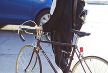 Girls on steel frame bikes
