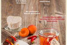 Chutneys, Relishes, Pickles & Co. / Eingelegtes, Aufgestrichenes