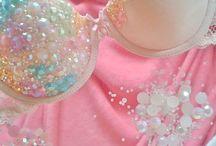 Sparkly dress corset
