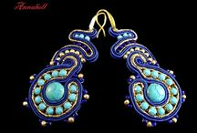 Soutache jewellery / sutasz, soutache