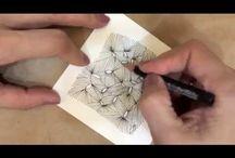 Zentangle Video Demos