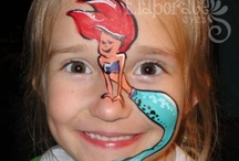 girlie face painting