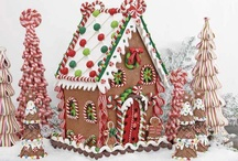 Gingerbread Houses / by Mandy Foot - Seams Sew Together