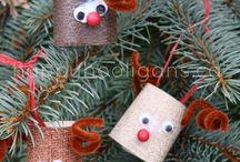 Christmas ~ Reindeer / Reindeer crafts, printables and ideas for kids!