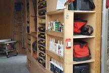 Garage inrichting