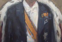 Schilderij koning Willem Alexander