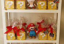 decoração Mario Bross