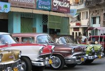 Cuban Cars from the 1950s. / Vintage American Cars / by John Taylor