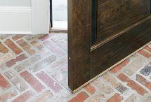 Bricks as flooring