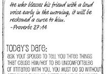 Marriage & Dating