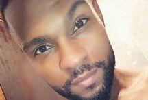 Cabelo e barba afro