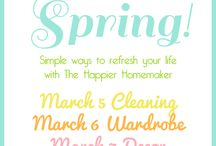 Spring cleaning / by Dorcas Maynard