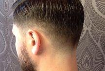Male hair cut
