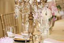 Event Decor and Lighting / Event Planning Inspiration & Ideas for your next wedding, party, corporate event: lighting, candelabras, flower decor, cake stands, cupcake stands
