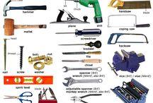 hardware tools vocabulary