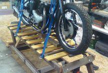 Løftekrakk til motorsykkelen