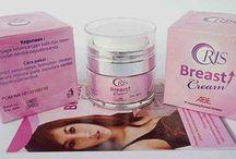 oris breast cream / pengencang payudara dan cegah kanker payudara.