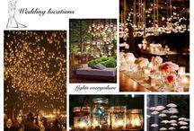 Wedding - Location / Collage di immagini e ricchi spunti per una location da sogno!