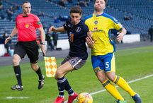 Stranraer 6 Jan 18 / Pictures from the Ladbrokes League one game between Queen's Park and Stranraer. Match played at Hampden Park on Saturday 6 January 2018. The score was 2-2.