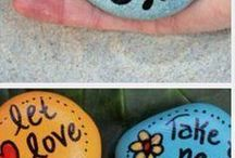 Schilderen op stenen