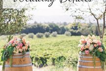 Wedding Wine Barrels
