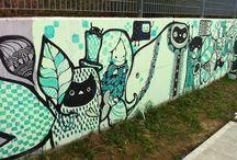 Walk By Street Art / Art I walk By...