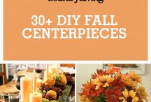 Fall Home Decor / Fall Table and Home Decor