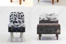 Nové využití starých kufrů