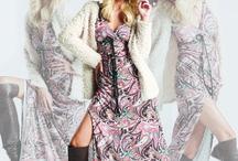 dresses / Paisley print shift dress by Desiree