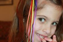 hair clips / by Elizabeth Bousquet