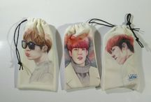 POUCHES/SLING POUCH #INFINITE / created by ratnayeol / Little Lumut (online STORE) Welcome to our Store! and happy shopping...^__^ **Note: Prices subject to change without notice >> tokopedia.com/littlelumut choose fanart on IG: fanart.96