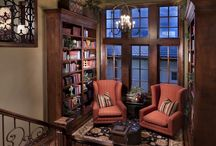 Book Nook / A place simply to hunker down and enjoy each journey you take in the pages of sacred books.  / by Samantha Hollingshead