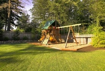 Swing Sets With Landscaping